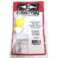 Инсерт Easton 4 мм, D6 (инсерт+камень+клей+инструмент)