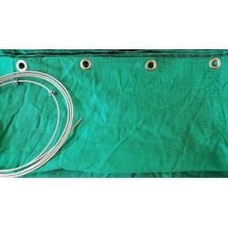 Сетка зелёная стрелоулавитель JVD Netting Green with Ring 10 м.