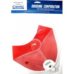 Нагрудник CARTEL  CR-104 RH/LH MD/LG RED
